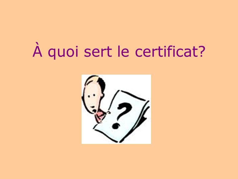 14 Un certificat = 30 crédits Quest-ce quun crédit? un crédit = 15 heures de cours un cours de 45 heures 3 h/semaine pendant 15 semaines = 3 crédits u