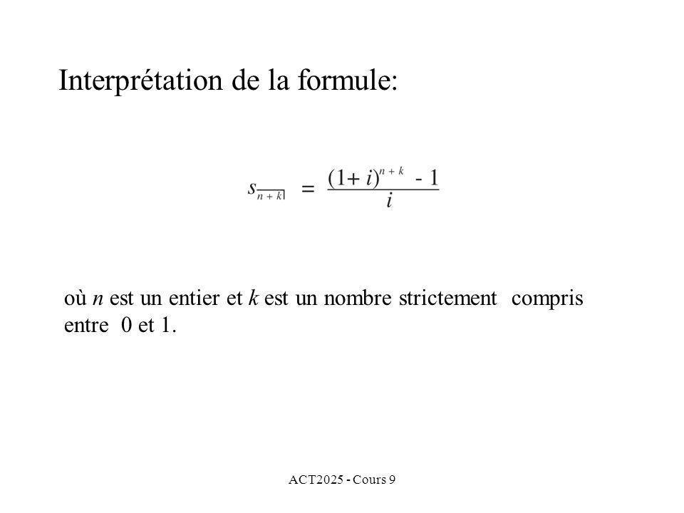 ACT2025 - Cours 9 où n est un entier et k est un nombre strictement compris entre 0 et 1.