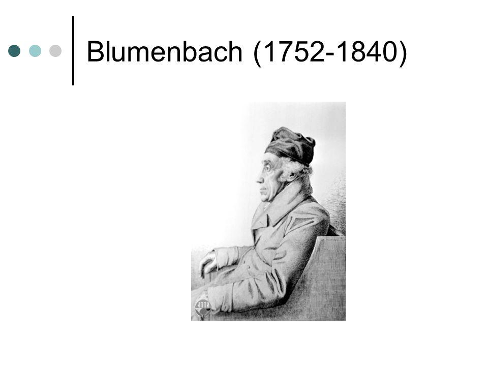 Blumenbach (1752-1840)