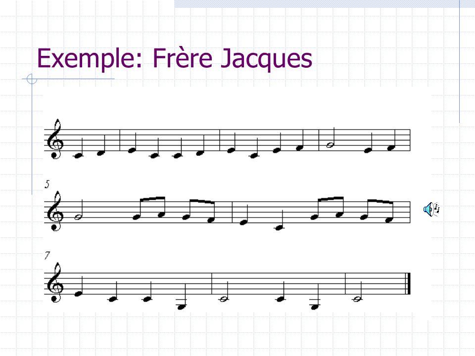 Exemple: Frère Jacques