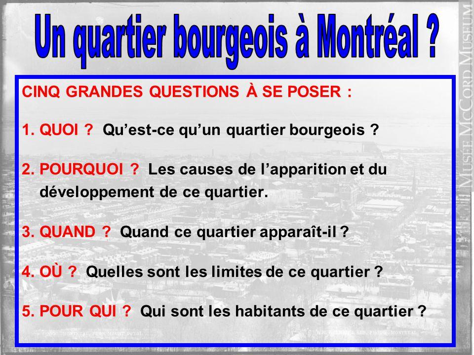 Quest-ce quon entend à Montréal vers 1890? Quest-ce quon entend à Montréal en 2000?