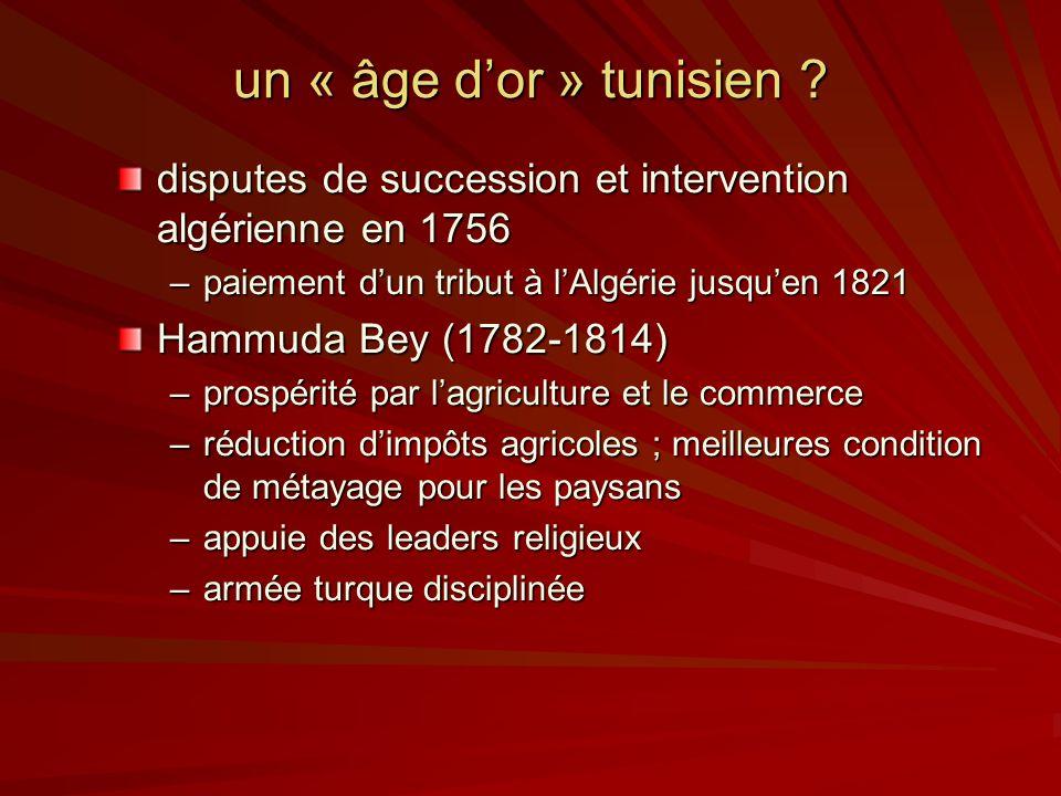 un « âge dor » tunisien .