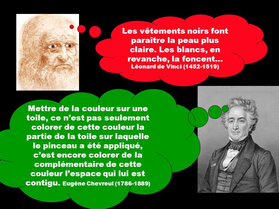 Paul Cézanne, Pommes et oranges (détail), vers 1899 LA PERCEPTION DUNE COULEUR PRODUIT AUTOMATIQUEMENT SA COMPLÉMENTAIRE