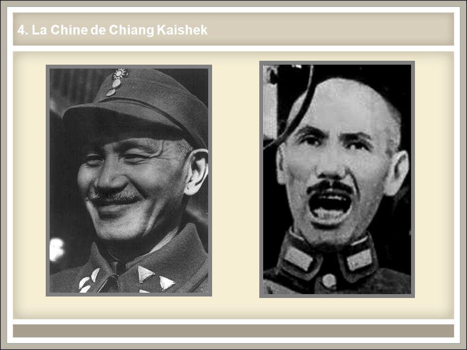 4. La Chine de Chiang Kaishek