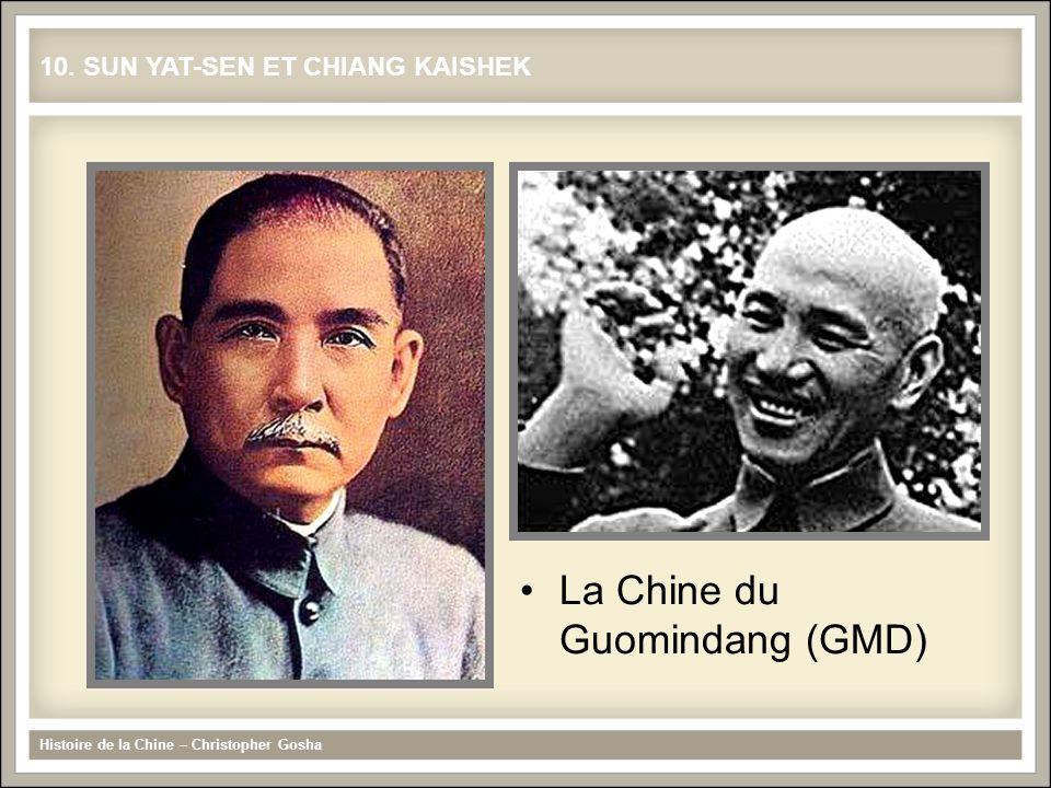 Histoire de la Chine – Christopher Gosha La Chine du Guomindang (GMD) 10.
