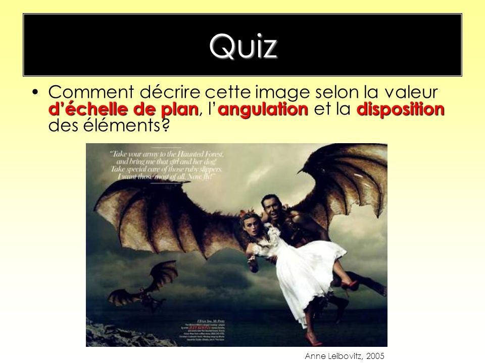 Quiz déchelle de planangulationdispositionComment décrire cette image selon la valeur déchelle de plan, l angulation et la disposition des éléments? A