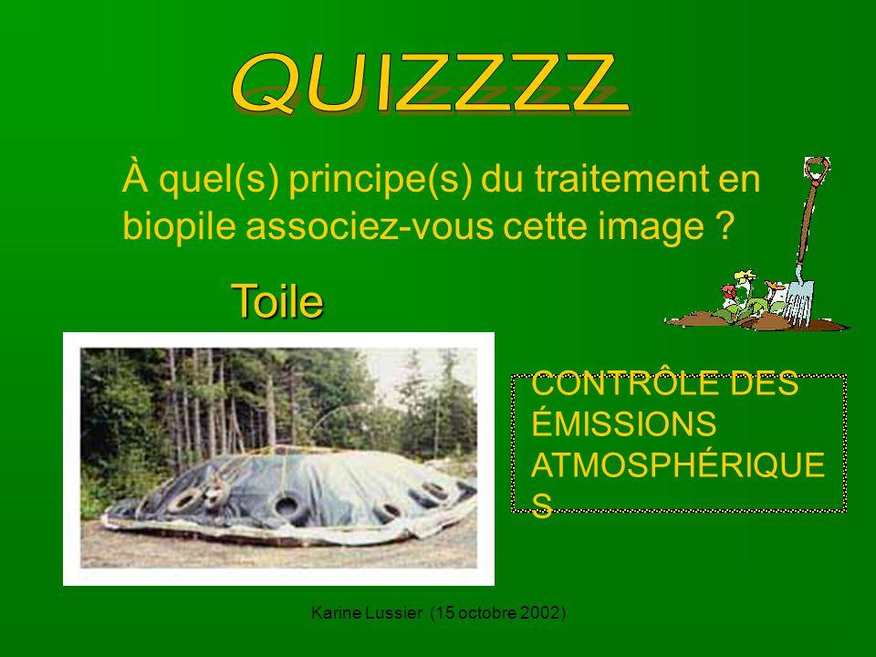 Karine Lussier (15 octobre 2002) À quel(s) principe(s) du traitement en biopile associez-vous cette image .
