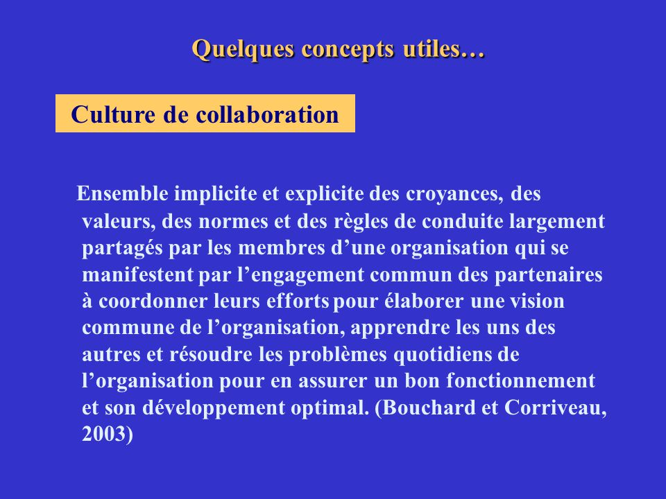 Ensemble des relations entre des personnes interdépendantes qui partagent un but commun.