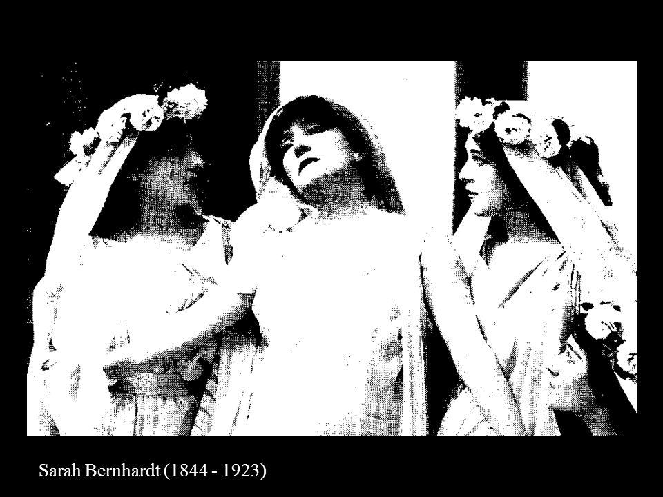 Sarah Bernhardt dans le rôle dHamlet 1899