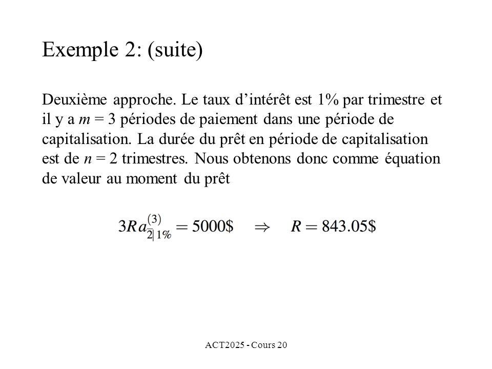ACT2025 - Cours 20 Deuxième approche.