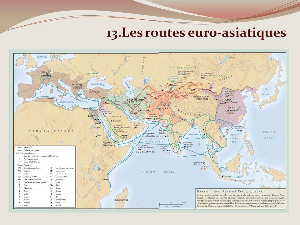 13.Les routes euro-asiatiques