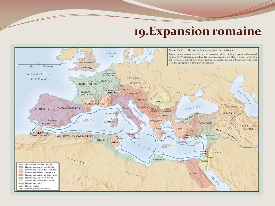 19.Expansion romaine