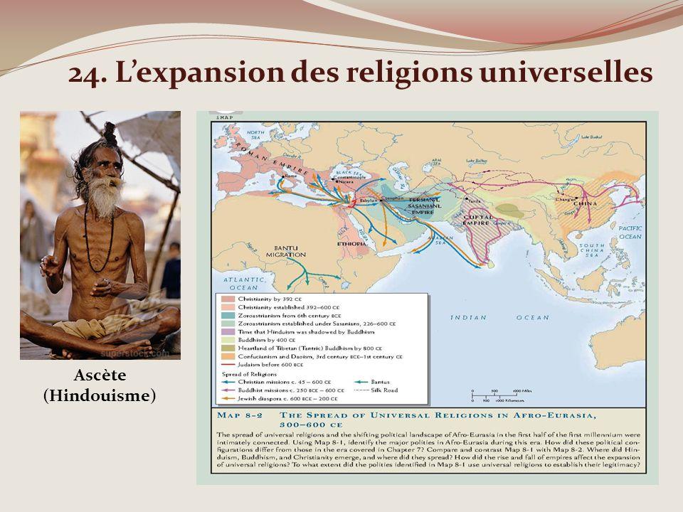 24. Lexpansion des religions universelles Ascète (Hindouisme)