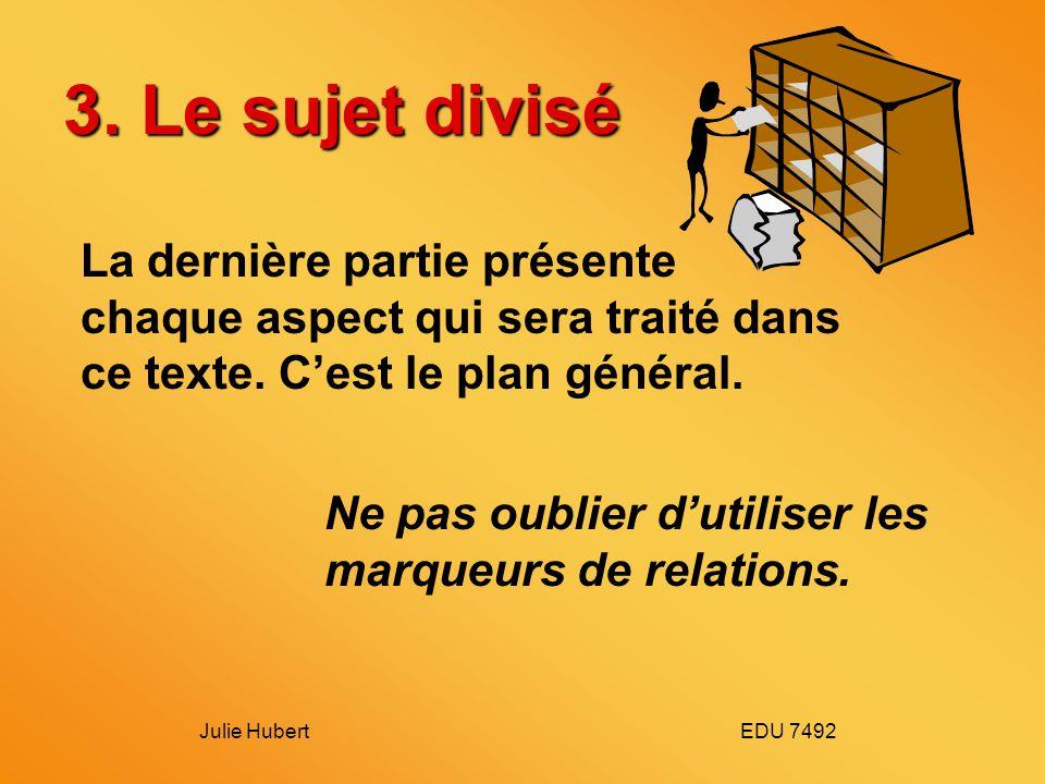 Julie Hubert EDU 7492 3.
