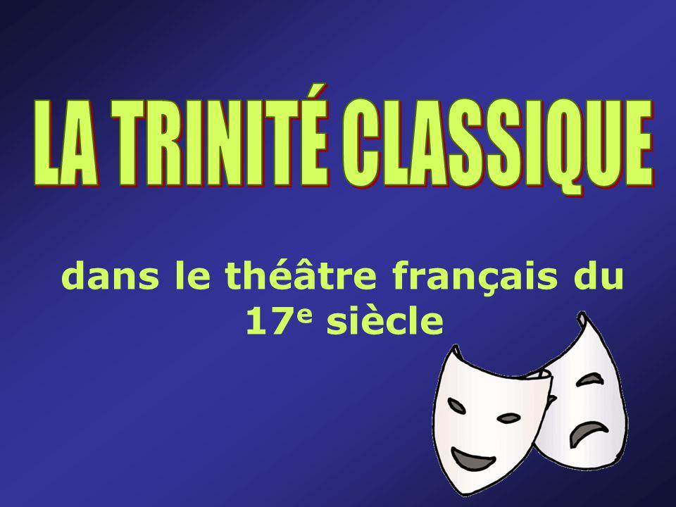 dans le théâtre français du 17 e siècle