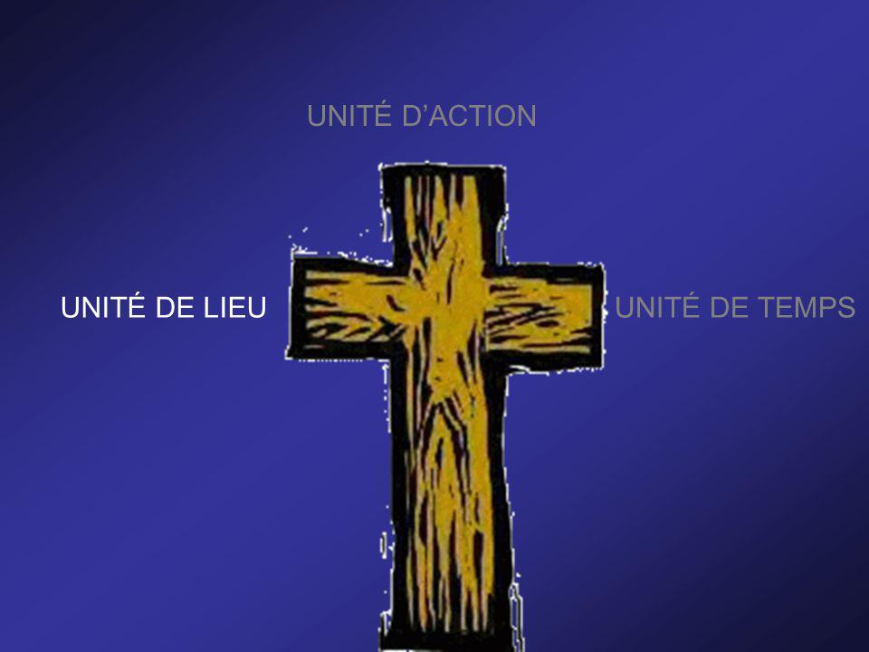 UNITÉ DACTION UNITÉ DE LIEUUNITÉ DE TEMPS