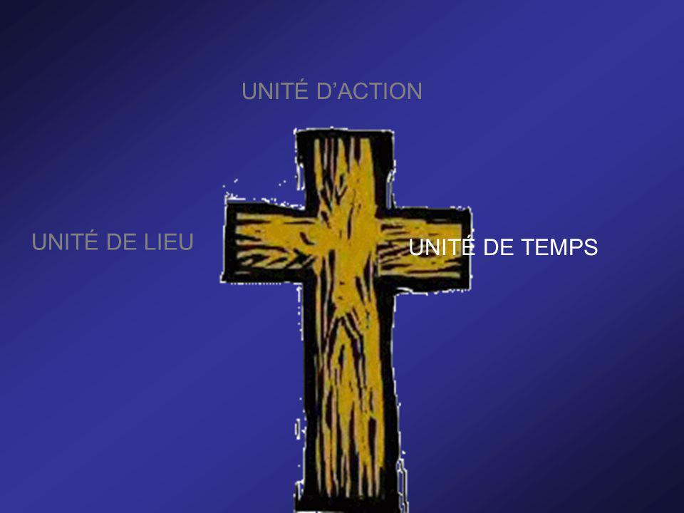 UNITÉ DACTION UNITÉ DE LIEU UNITÉ DE TEMPS