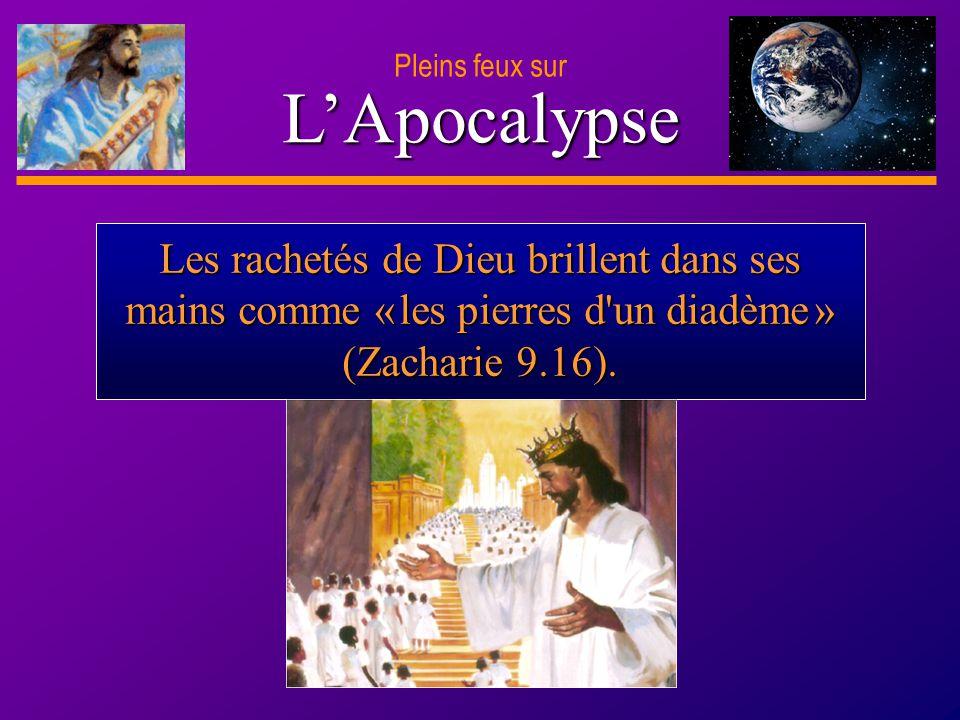 D anie l Pleins feux sur 9 LApocalypse Les rachetés de Dieu brillent dans ses mains comme « les pierres d'un diadème » (Zacharie 9.16).