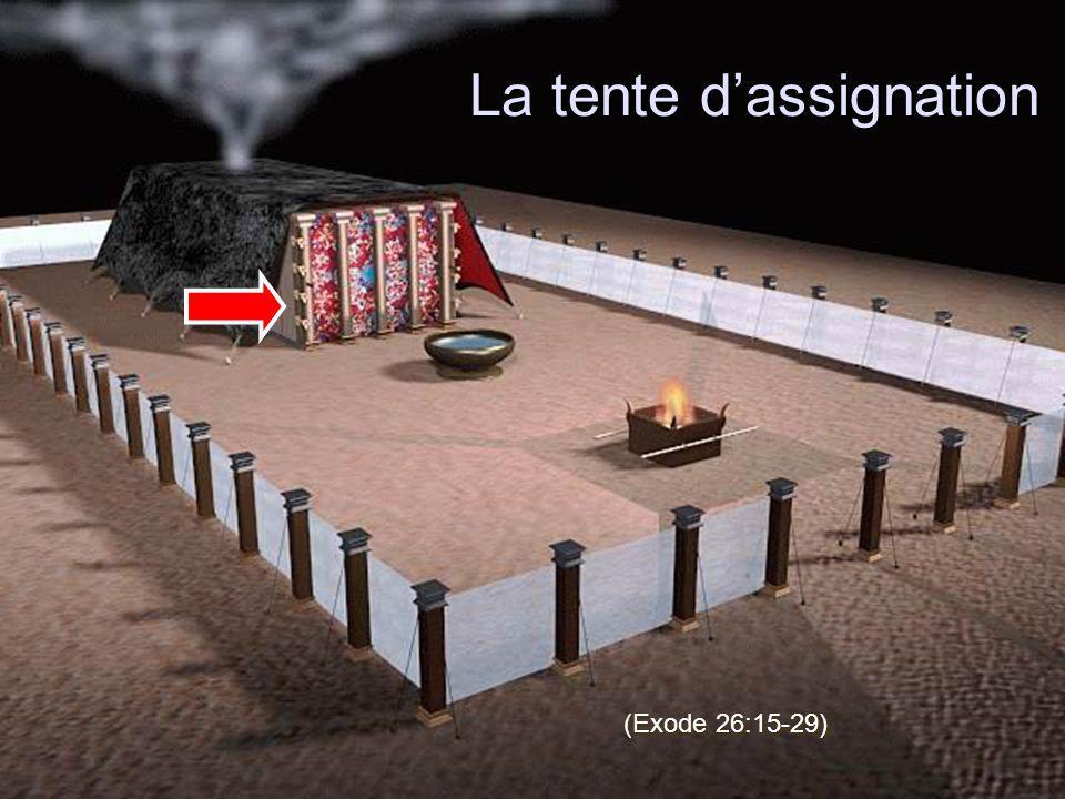 La tente dassignation (Exode 26:15-29)