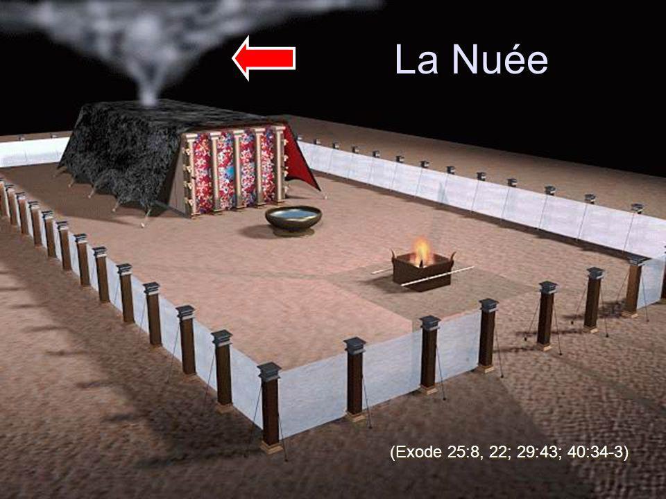 La Nuée (Exode 25:8, 22; 29:43; 40:34-3)