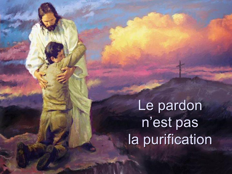 Le pardon nest pas la purification