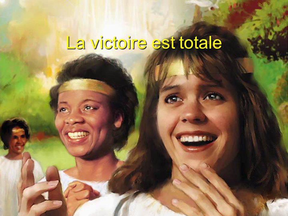 La victoire est totale