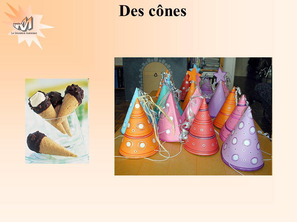 La Géométrie Autrement Des cônes