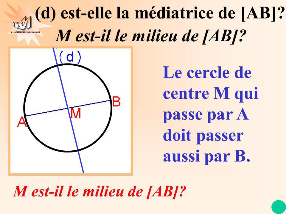 Les mathématiques autrement Après avoir vérifié avec lune des 2 méthodes, on code la figure.