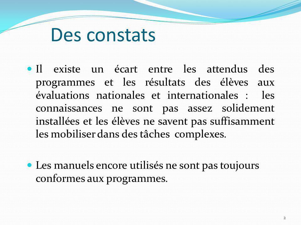 Conférence nationale sur lenseignement des mathématiques (école-collège) Le 13 mars à Lyon Préparée par un comité scientifique qui a entendu une vingtaine dexperts en mathématiques.
