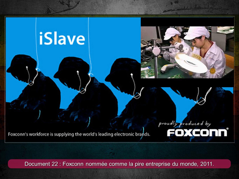 9 Document 23 : Grève des salariés de lApple store de lOpéra, 2011.