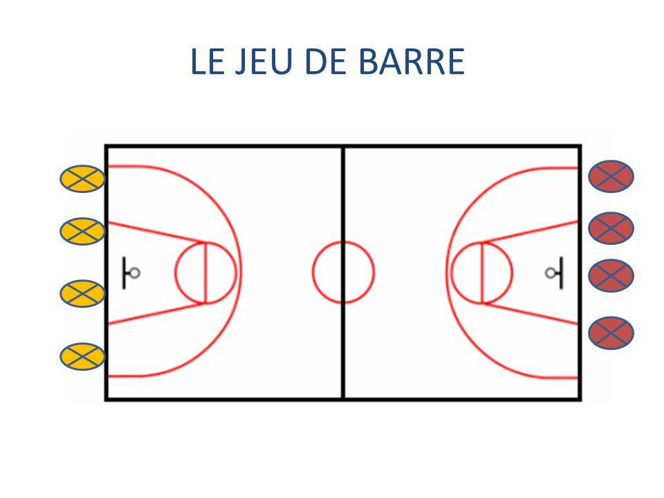 LE JEU DE BARRE