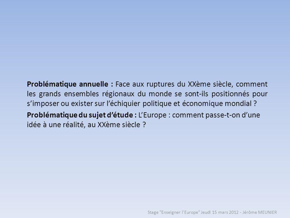 Problématique de la situation: En quoi le couple franco-allemand Mitterrand-Kohl est-il (lacteur-relai de la réconciliation franco-allemande et) lacteur-moteur du passage de la CEE à lUnion européenne .