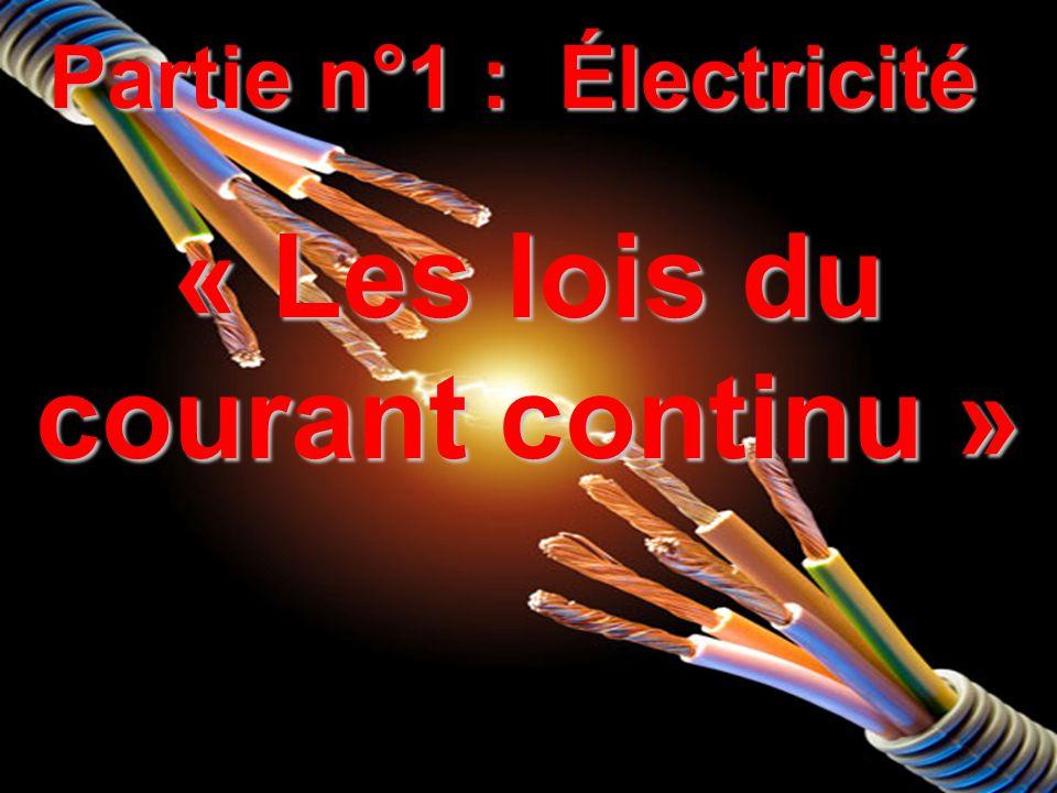Révisions « électricité de 5 ème »