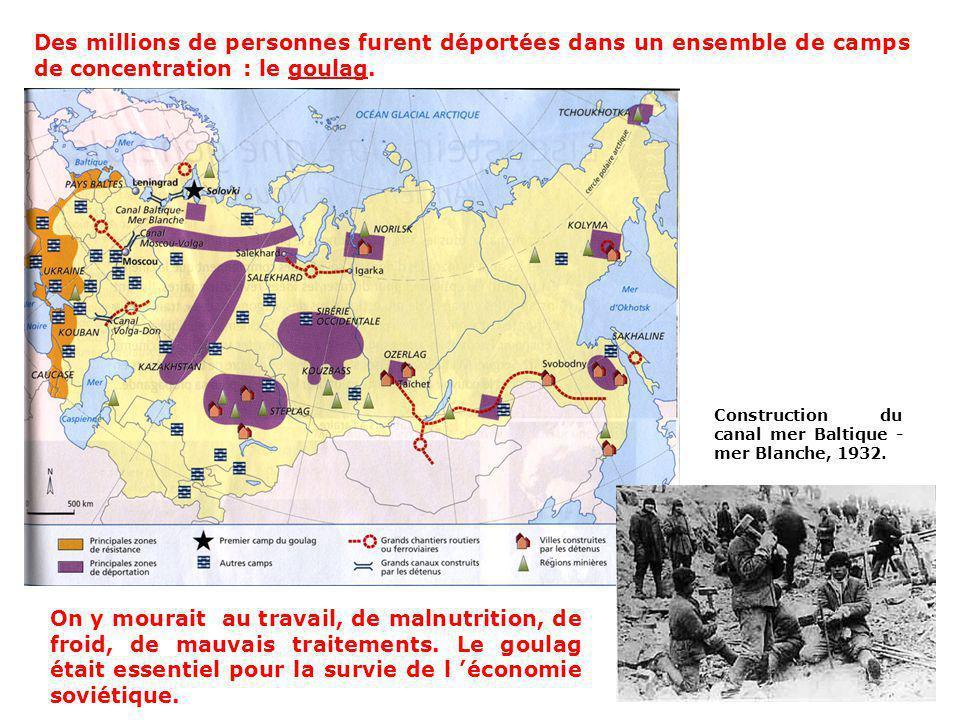 C) La terreur stalinienne « 25 janvier 1938 au matin. (…) Les arrestations continuent. Il y a des cas où des gens arrêtés reviennent. Après larrestati