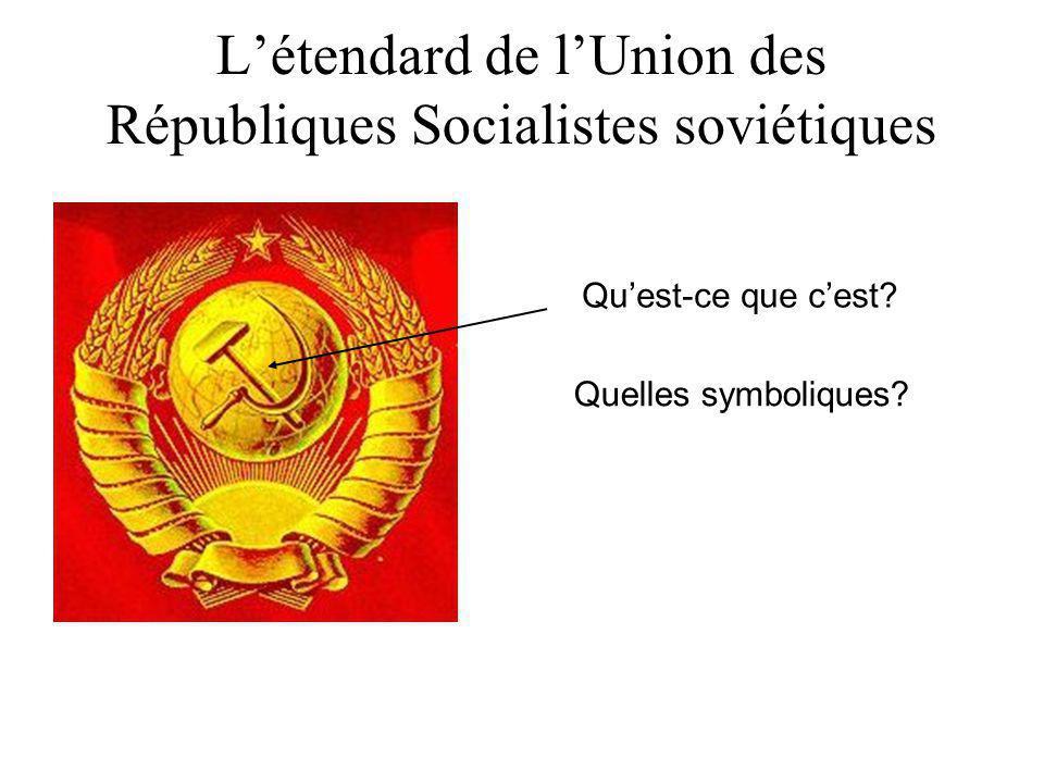 Le communisme en URSS: principes de base et espérances… La République russe est une société socialiste libre. Tout le pouvoir appartient au peuple tra