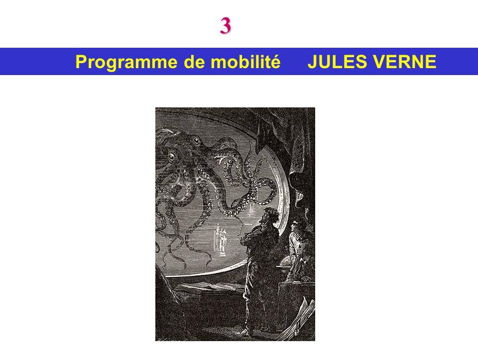 3 Programme de mobilité JULES VERNE