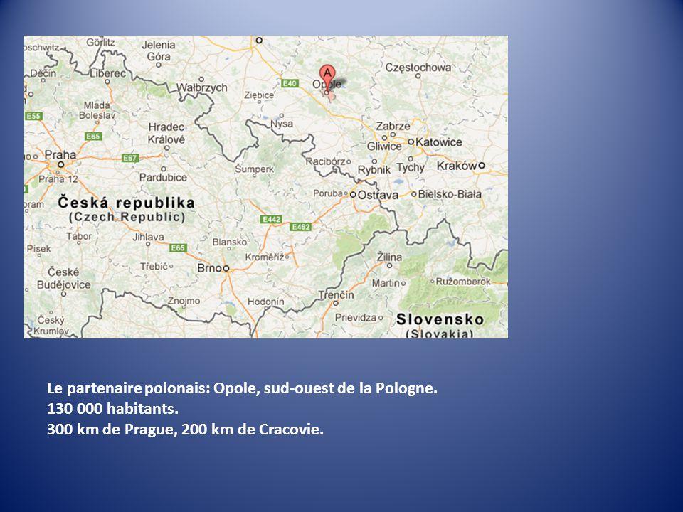 Le partenaire polonais: Opole, sud-ouest de la Pologne.