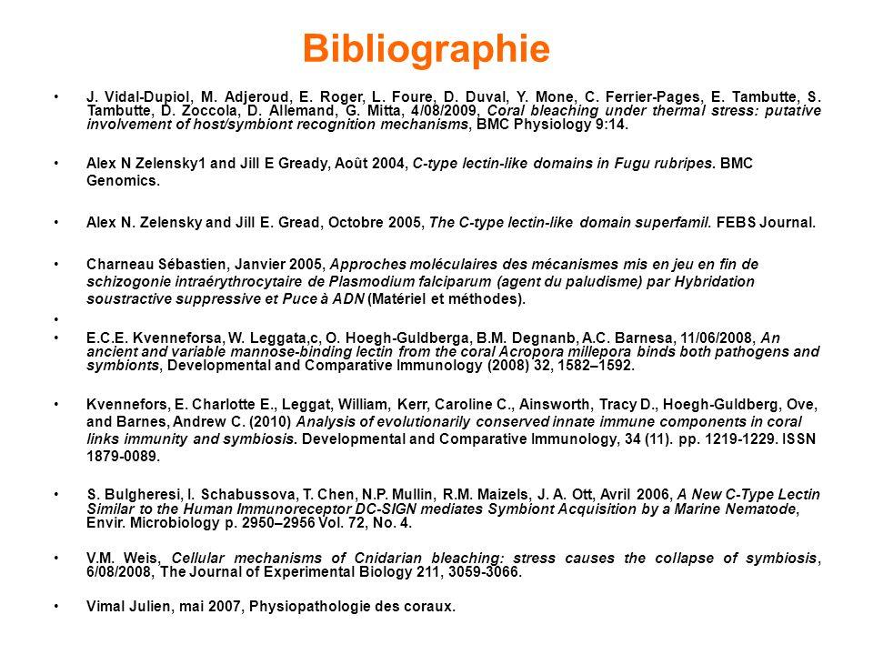 J.Vidal-Dupiol, M. Adjeroud, E. Roger, L. Foure, D.