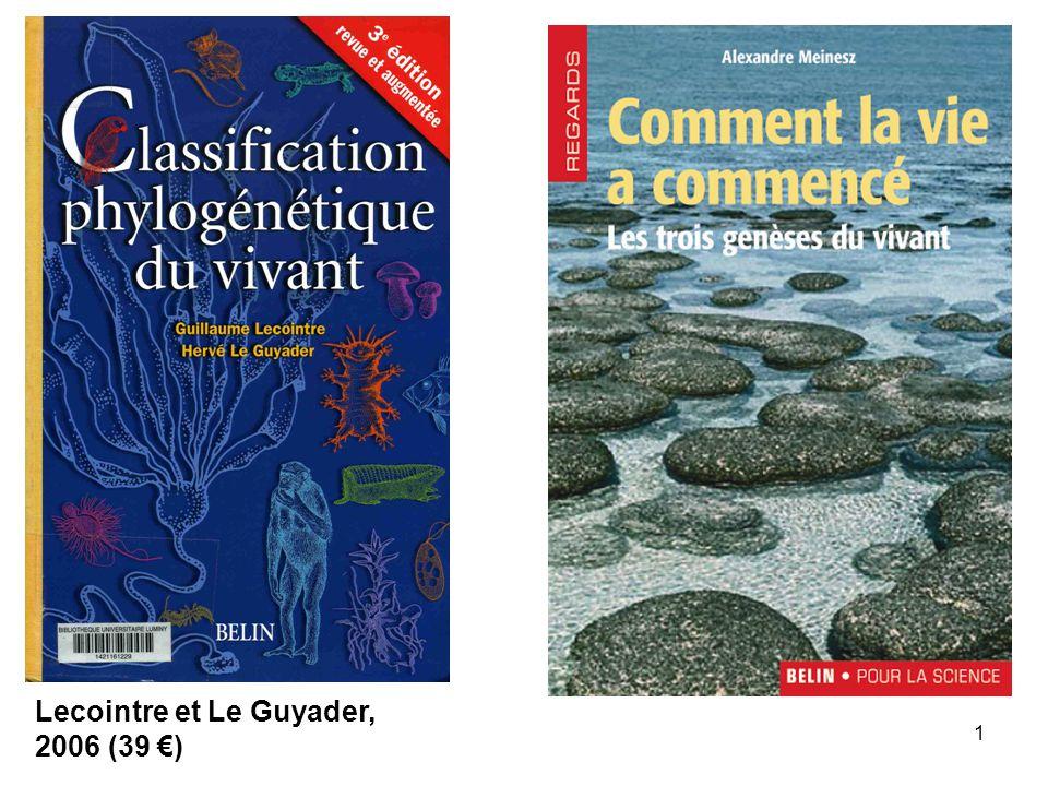1 Lecointre et Le Guyader, 2006 (39 )
