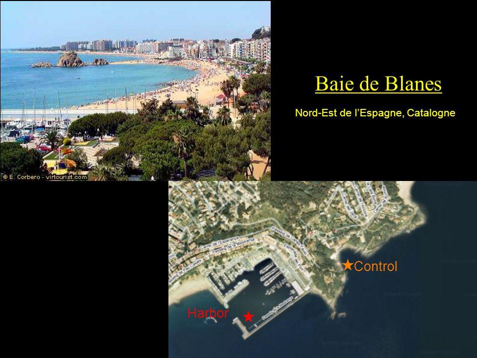Baie de Blanes Control Harbor Nord-Est de lEspagne, Catalogne