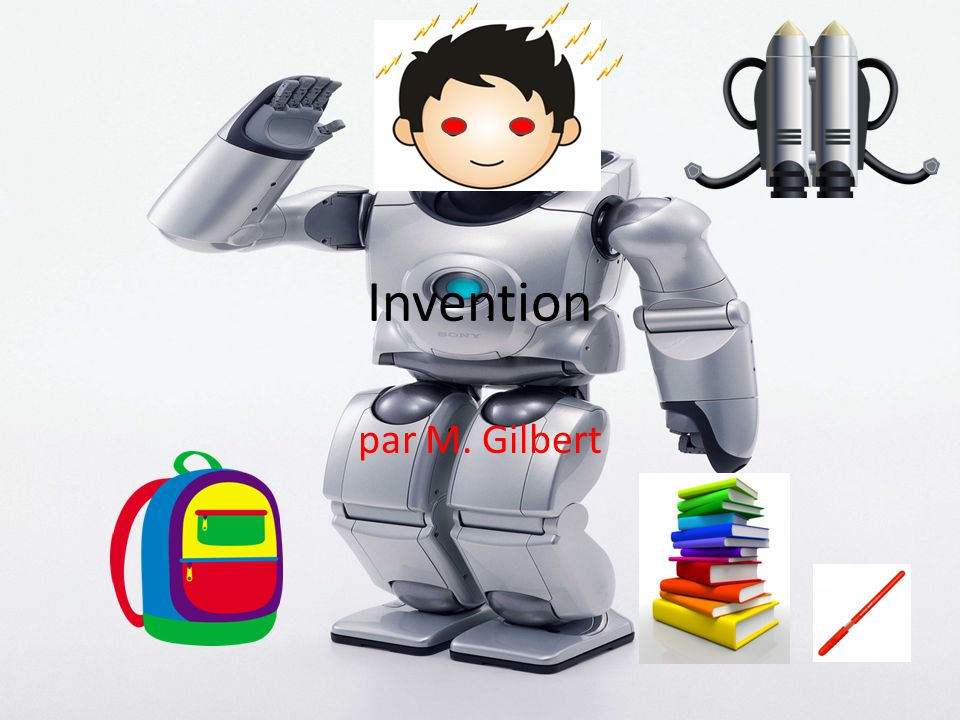 Invention par M. Gilbert