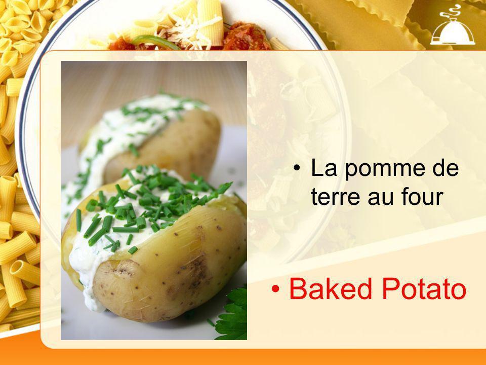 La pomme de terre au four Baked Potato