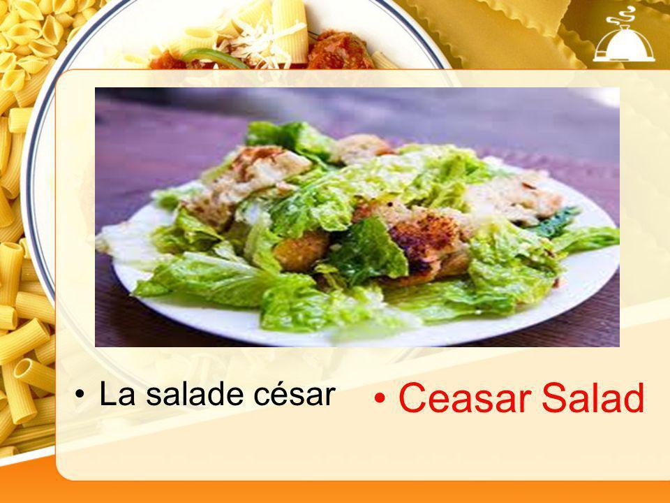 La salade césar Ceasar Salad