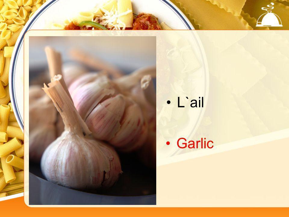 L`ail Garlic
