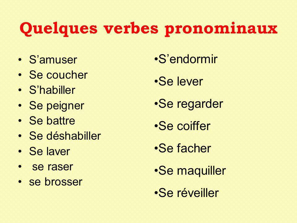 A.Les verbes pronominaux (olympiques) I.