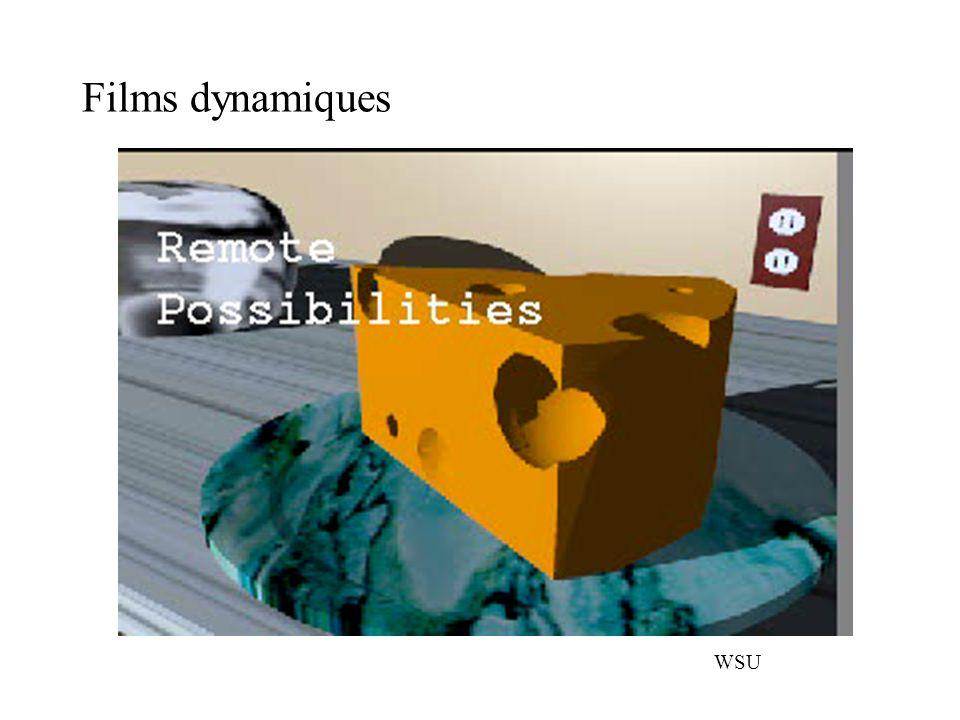 Films dynamiques WSU