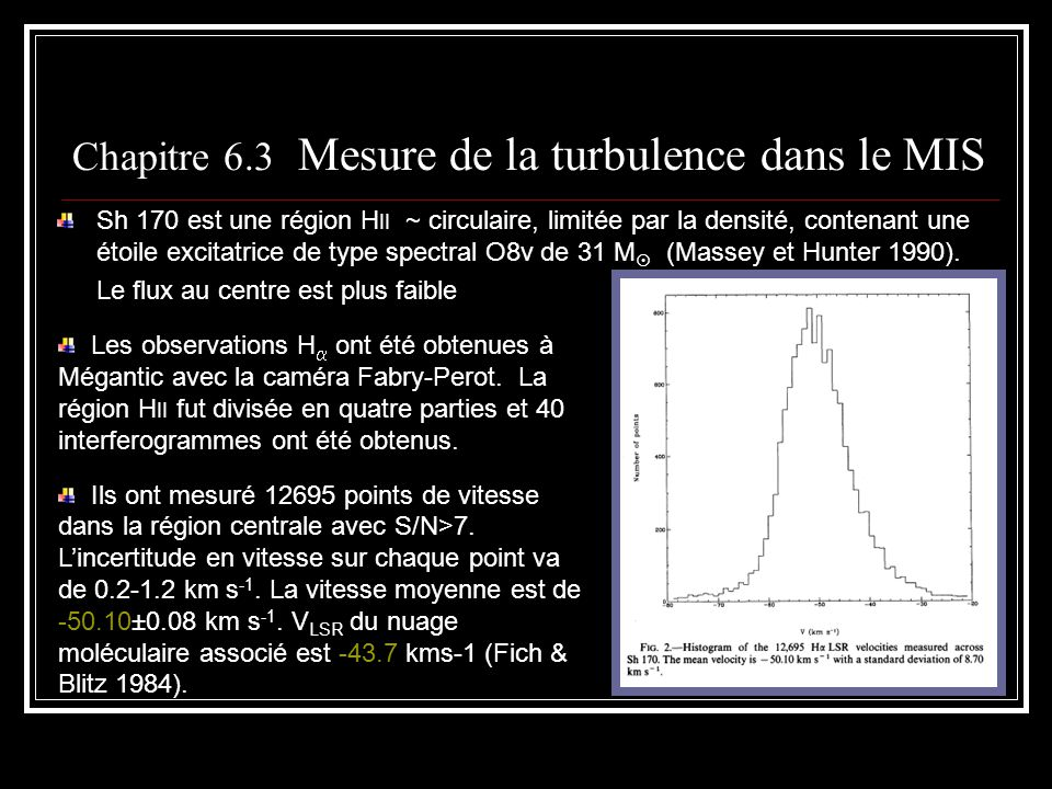 Sh 170 est une région H II ~ circulaire, limitée par la densité, contenant une étoile excitatrice de type spectral O8v de 31 M (Massey et Hunter 1990)