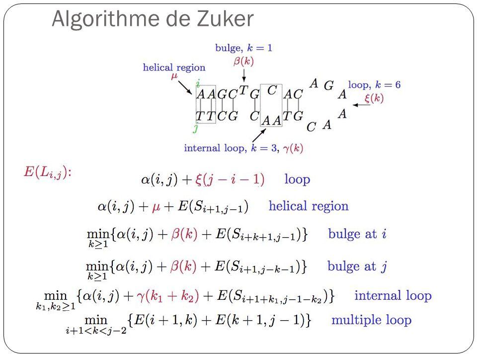 Algorithme de Zuker