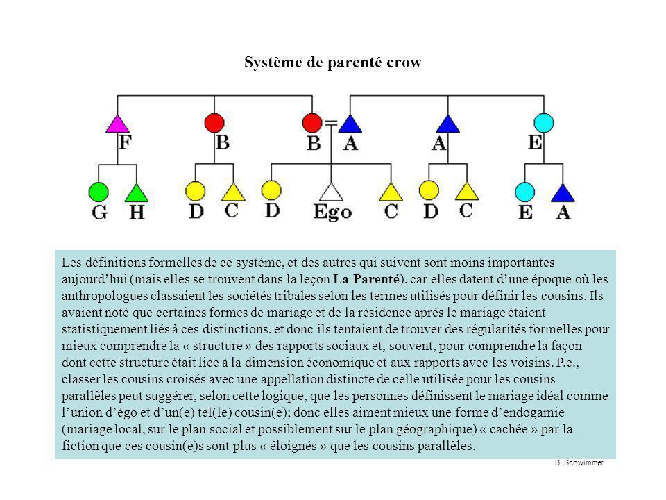 Système de parenté crow B.