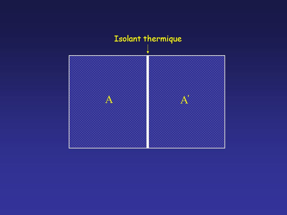 A A A Isolant thermique